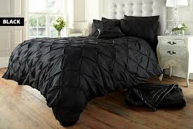 pintuck duvet set offer wowcher