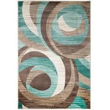 zipcode design rick teal area rug reviews wayfair ca inside and brown rugs remodel 7