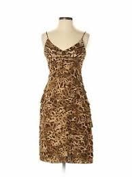 Details About Eliza J Women Brown Cocktail Dress 4 Petite