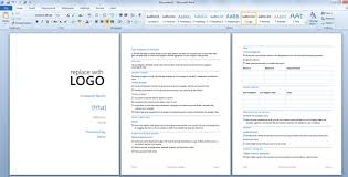 Report Presentation Template Due Diligence Template For Word 2013