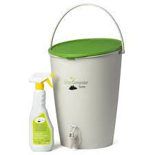 the urban composter is the cleanest and easiest way to create bokashi compost from your kitchen waste
