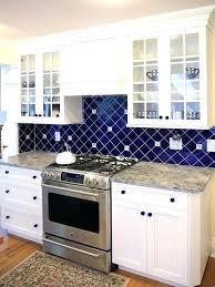blue kitchen backsplash blue and white kitchen tiles blue kitchen dark cabinets blue and white kitchen blue kitchen backsplash this clean lined white