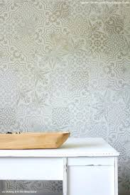 stencil wallpaper patterns tile stencils for walls floors and kitchen decor  royal stenciled on wall design