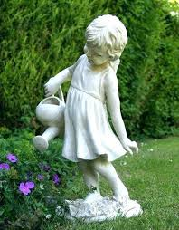 tall garden statues inch sitting fairy statue indoor outdoor angel small