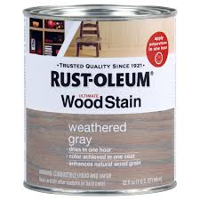 Grey Wash Wood Stain Shop Rust Oleum Weathered Gray Interior Stain Actual Net Contents