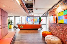 view in gallery carrier cycle reception desk at google amsterdam