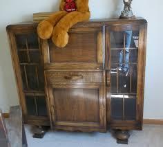 antique break front secretary desk bookcase display cabinet for antiques com classifieds