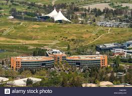 google office in america. Google Headquarters Googleplex, Silicon Valley, California, United States Of America, Santa Clara, USA, Aerial Photo Office In America