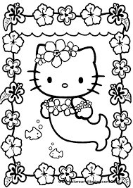 Hello kitty coloring pages.Hello kitty printable coloring drawings ...