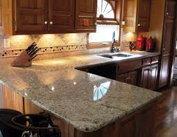 Exceptional Santa Cecelia Granite Kitchen Countertop Finished Installed Granix 2 ...