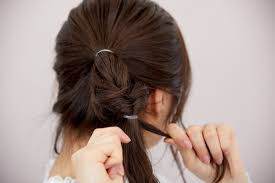ラーメンマンヘア のやり方2パターン くるりんぱで簡単かわいく変身