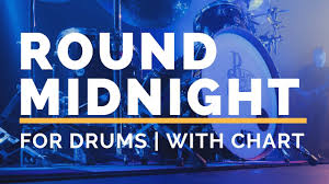 Round Midnight Chart Round Midnight Backing Track For Drums