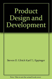 Product Design Development Ulrich Product Design And Development Steven D Ulrich Karl T