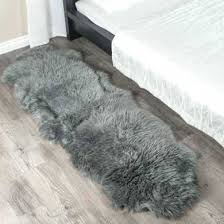 sheep fur rug double grey sheepskin rug 2 pelt ft costco sheepskin rugs sheepskin rug nz