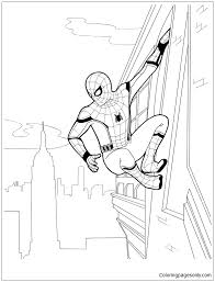 These coloring challenges range in difficulty level from easy to advanced. Spider Man Homecoming 2 Coloring Pages Spiderman Coloring Pages Free Printable Coloring Pages Online