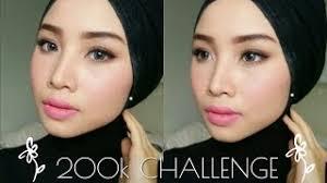 bahasa indonesia 200k glam makeup challenge makeup on a budget irna dewi