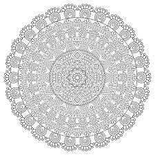Mandala Zen Antistress Details Mandalas Tr S Difficiles Pour