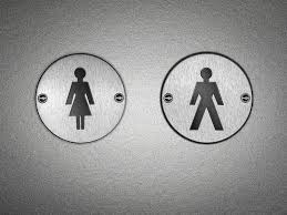 sociology of gender definition theories research bathroom signs signaling different toilets for men and women demonstrates the social construction of gender