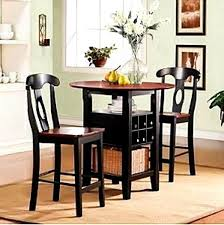 wine rack dining table. Staggering Table Wine Rack Dining Ideas Ng Plain Design With Trendy Piece Bistro Kitchen Set Bar Chairs Black