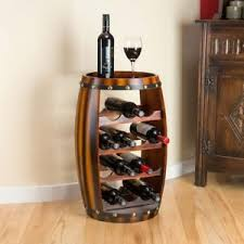 wine rack table. Plain Table Image Is Loading WoodenBarrelWineRackWoodBottleHolderTable In Wine Rack Table O