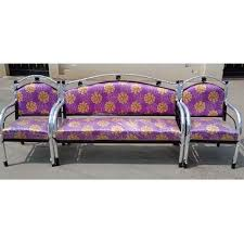 ssv furniture modern steel sofa set