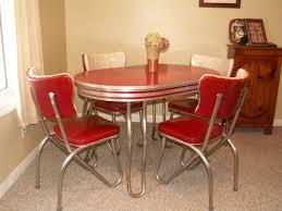 1950メs retro kitchen table chairs photo 1