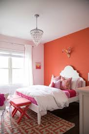 Pink And Orange Bedroom Curtains