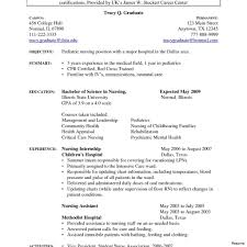 Medical Resume Template Free Healthcare Resume Objectives Free Sample For Resumes Objective 11