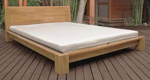 japanese bedroom furniture. Raku Japanese Tatami Bed With Headboard Bedroom Furniture