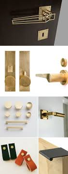 modern industrial hardware and fixture inspiration for kitchen, bathroom,  cabinets and furniture, including