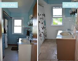 how to transform an ugly bathroom with diy tile painting restoration 1 kitchener