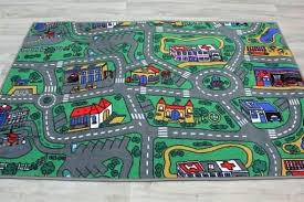 road play rug kids mat city road size childrens road play rug
