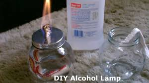 diy alcohol lamp w quick stove conversion burns standard isopropyl rubbing alcohol you