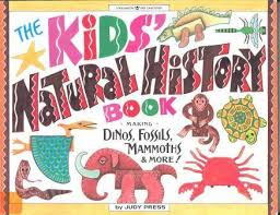 natural history book cover