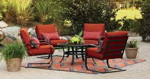 new 5 pc patio conversation table chair deck furniture set