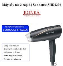 Máy sấy tóc 3 cấp độ Sunhouse SHD2306 tấm nhiệt siêu bền sấy tóc nhanh  chóng với công suất 1200W - Khuyến Mãi Lớn 2021