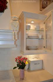 kitchen cabinet glass shelves are a great way to let the light show through from top