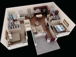 3D small house floor plans under 1000 sq ft #smallhouse #floorplan ...