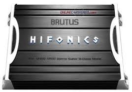 hifonics bxi d w class d mono block brutus series hifonics bxi 1210d