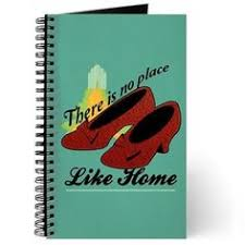 wizard of oz gifts 12 dorothy s journal there s no place like home dorothy e next to red ruby