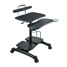 Ergonomic Computer Desk Sit And Stand Computer Workstation