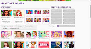 makeover games free online makeover games for girls ggg com