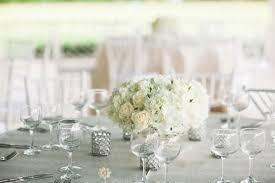 White wedding centerpieces Purple White Wedding Centerpiece With Roses And Hydrangea Mywedding Summer Wedding Centerpiece Ideas Mywedding