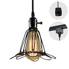 stglighting h type 3 wire track light pendants length 4 9 feet restaurant chandelier decorative chandelier instant pendant light bulb not include industrial