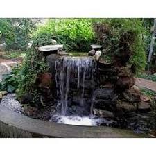 outdoor garden fountain. Outdoor Garden Waterfall Fountain D