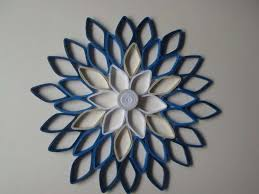 blue and gray wall art fresh navy home decor paper dahlia wall hanging white navy blue