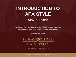 Apa Style For Powerpoint Module 1 What Is Apa Style Apa 6th Ed Authorstream