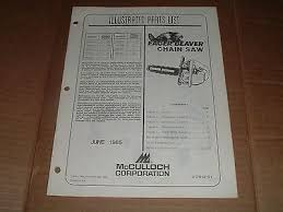 Mcculloch Eager Beaver 2 0 Chainsaw Manual Mcculloch Eager Beaver Chainsaw Parts List On Popscreen