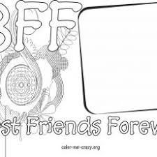 Interesting Idea Free Printable Bff Coloring Pages Sheets For Adults