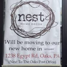 Small Picture Nest Home Decor Home Decor 1238 Egypt Rd Oaks PA Phone